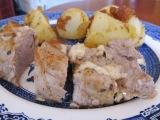 Herb and Cheese Stuffed PorkTenderloin