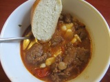 Italian Sausage and Garbanzo Bean Soup- Revisited