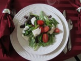 Asparagus,Tomato and Mozzarella Salad