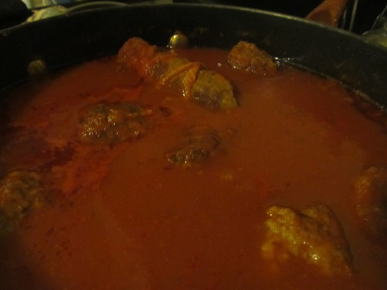 Sauce and braciole 005