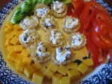 New recipes….appetizer and dessert
