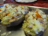 Buffalo Blue Baked Potato